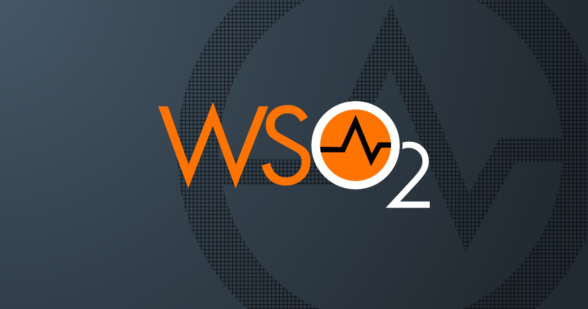 WSO2 | Next-generation technologies to future-proof your business