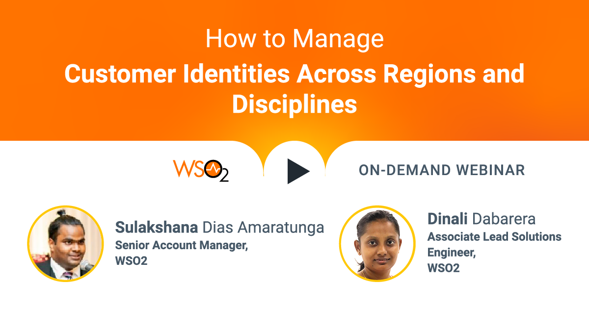 How to Manage Customer Identities Across Regions and Disciplines