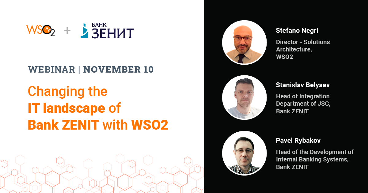 Changing the IT landscape of Bank ZENIT with WSO2