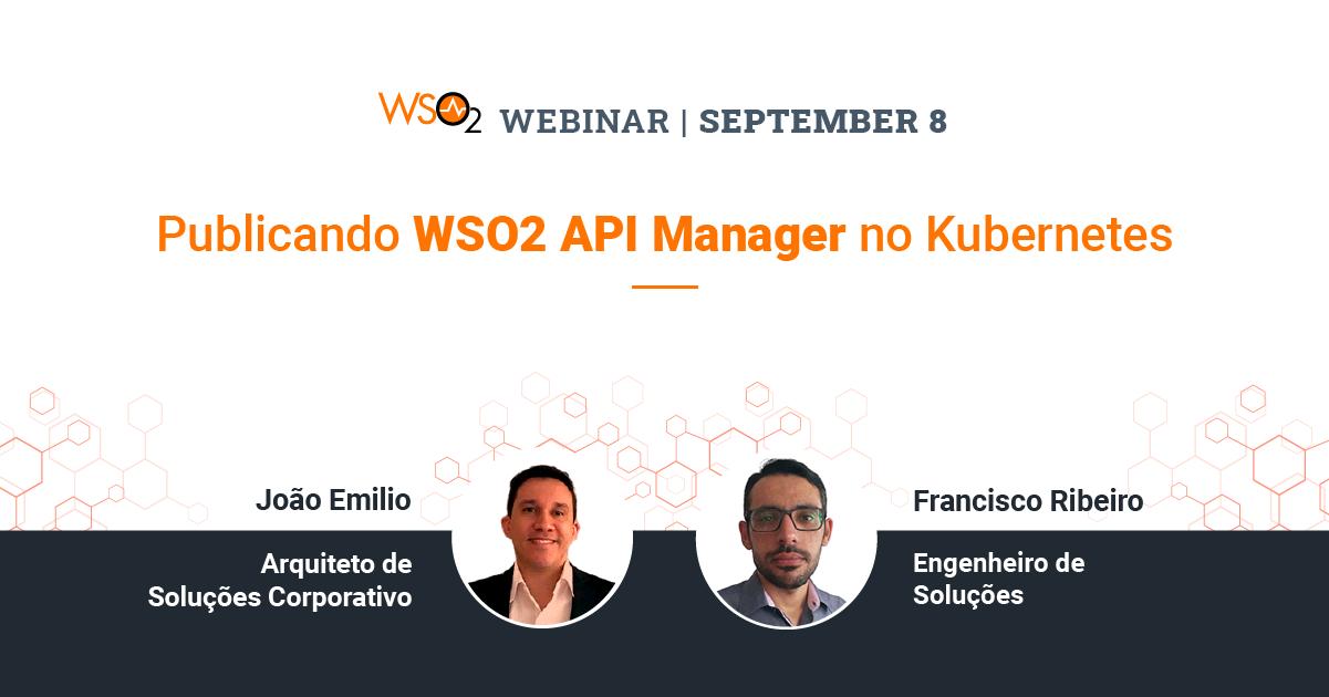 Publicando WSO2 API Manager no Kubernetes
