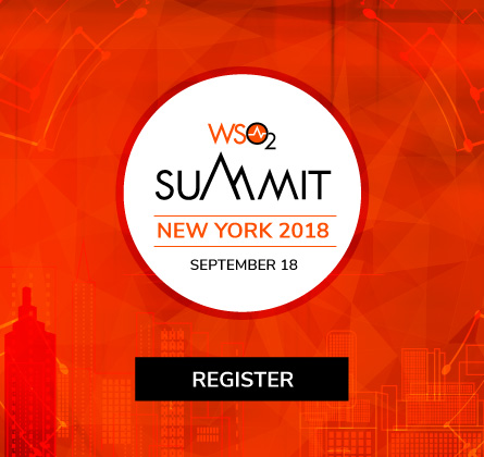 WSO2 Summit New York