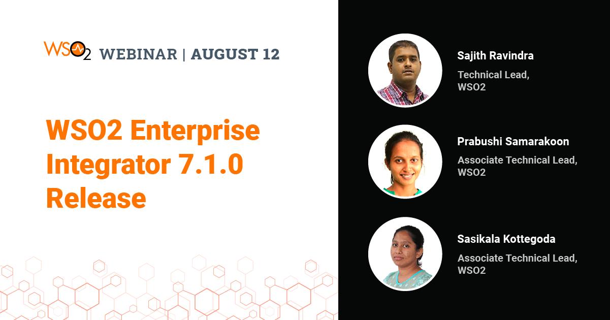 WSO2 Enterprise Integrator 7.1.0 Release