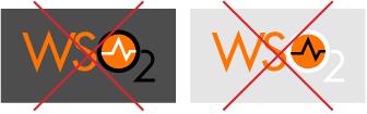 WSO2 Logo improper use